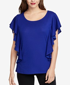 RACHEL Rachel Roy Ruffled Top