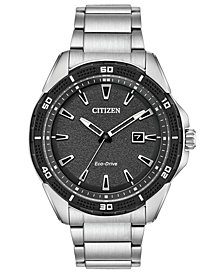 Citizen Drive from Citizen Eco-Drive Men's Stainless Steel Bracelet Watch 45mm