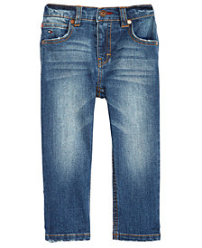 Tommy Hilfiger Baby Boys Faded Stretch Jeans