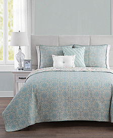 VCNY Home Evangeline Reversible Quilt Set Collection
