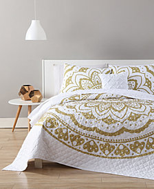 VCNY Home Karma Gold Quilt Set Collection
