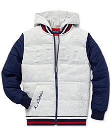 Polo Ralph Lauren Big Boys Hybrid Baseball Jacket