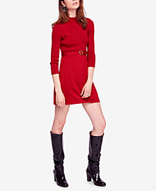 Free People French Girl Contrast Mini Dress