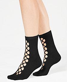 Free People Bonjour Cutout Ankle Socks