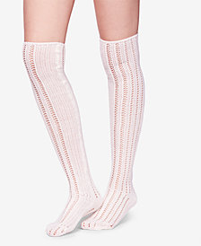 Free People Woodland Pointelle Over-The-Knee Socks