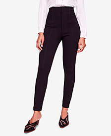 Free People Pull-On High-Waist Ponti Pants