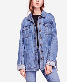 Free People Heritage Cotton Denim Jacket