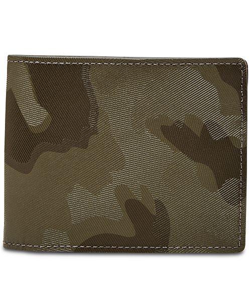 Fossil Men's Jasper Camouflage Flip-ID Wallet