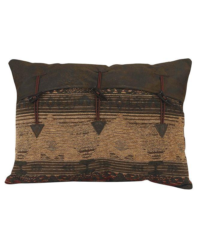 "HiEnd Accents Pillow Decorative 16""x21"" Buttons"