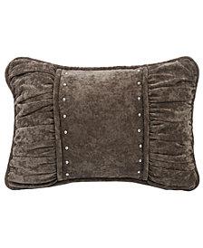 "Shirred fabric 14""x20"" Pillow"