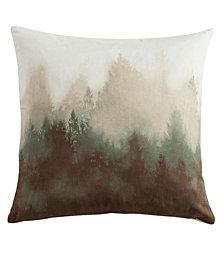 """18""""x18"""" Watermark Tree Pillow"""