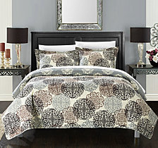 Chic Home Kelsie 3 Piece King Quilt Set