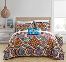 Chic Home Malka 4 Piece Queen Quilt Set