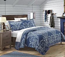 Chic Home Napoli 3 Piece King Quilt Set