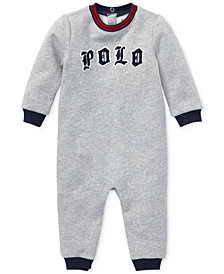 Polo Ralph Lauren Baby Boys Logo Graphic Coverall