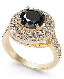 Charter Club Pavé Stone Halo Ring, Created for Macy's