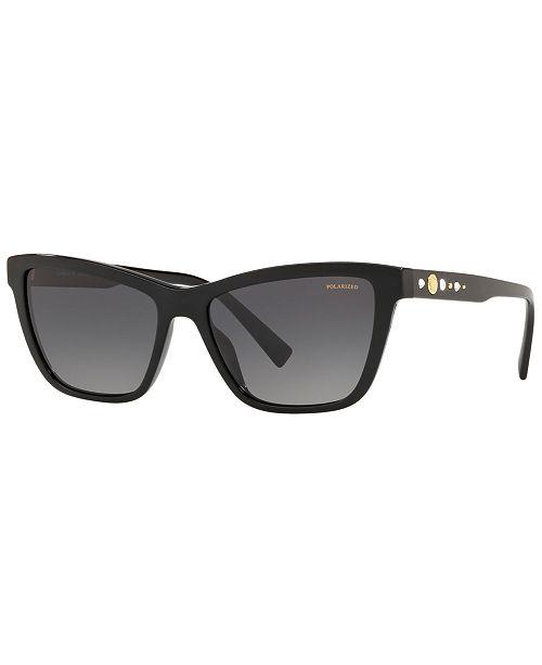 50191336c22d ... Versace Polarized Sunglasses