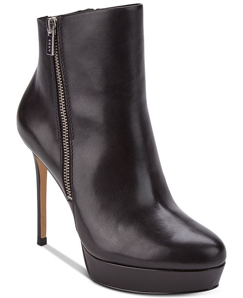 970f744cbdd DKNY Jami Platform Booties, Created for Macy's & Reviews - Boots ...