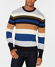 DKNY Men's Striped Sweater