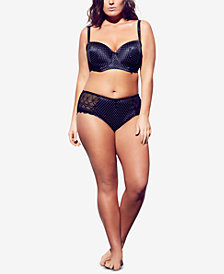 City Chic Trendy Plus Size Adela Shorty Brief