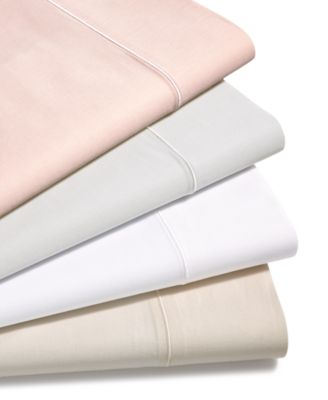 CLOSEOUT! Solid 4-Pc Queen Sheet Set, 300 Thread Count Hygro Cotton, Created for Macy's