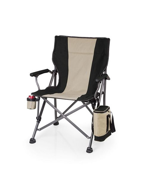 Picnic Time Oniva™ by Black Outlander Folding Camp Chair with Cooler