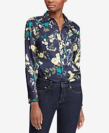 Lauren Ralph Lauren Floral-Print Twill Shirt