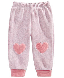 First Impressions Baby Girls Heart Jogger Pants, Created for Macy's