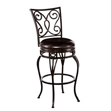 Hanover Swivel Bar Stool, Quick Ship