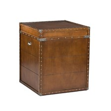 Steamer Trunk End Table, Quick Ship