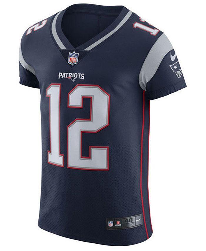 Nike Men's Tom Brady New England Patriots Vapor Untouchable Elite ...