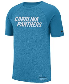 Nike Men's Carolina Panthers Marled Raglan T-Shirt
