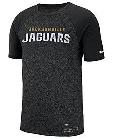 Nike Men's Jacksonville Jaguars Marled Raglan T-Shirt