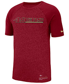 Nike Men's San Francisco 49ers Marled Raglan T-Shirt