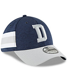 New Era Dallas Cowboys On Field Sideline Home 39THIRTY Stretch Fitted Cap