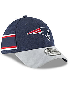 New Era Boys' New England Patriots Sideline Home 39THIRTY Cap