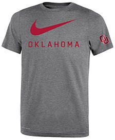 Nike Oklahoma Sooners Legend DNA T-Shirt, Big Boys (8-20)