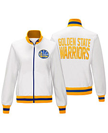 G-III Sports Women's Golden State Warriors Field Goal Track Jacket