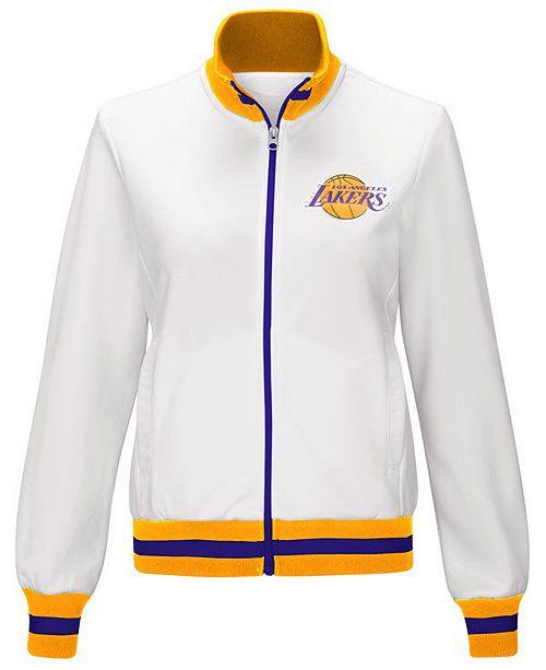 7b57bc96ae83 ... G-III Sports Women s Los Angeles Lakers Field Goal Track Jacket ...