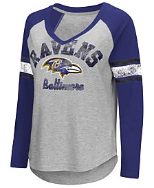 G-III Sports Women's Baltimore Ravens Sideline Long Sleeve T-Shirt