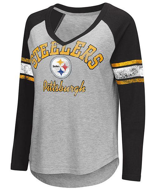 G-III Sports Women s Pittsburgh Steelers Sideline Long Sleeve T ... 90e9135ba