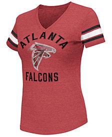 G-III Sports Women's Atlanta Falcons Wildcard Bling T-Shirt