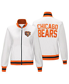 G-III Sports Women's Chicago Bears Field Goal Track Jacket