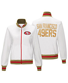 G-III Sports Women's San Francisco 49ers Field Goal Track Jacket