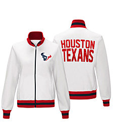 G-III Sports Women's Houston Texans Field Goal Track Jacket