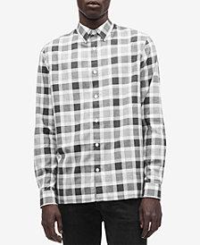 Calvin Klein Men's Flannel Buffalo Plaid Shirt