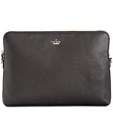 kate spade new york Universal Pebbled Convertible Laptop Sleeve