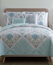 VCNY Home Windsor Reversible 4-Pc. Twin XL Quilt Set
