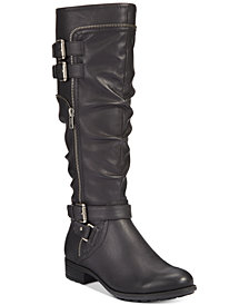 White Mountain Remi Riding Boots, Created for Macy's