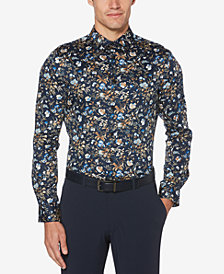 Perry Ellis Men's Slim-Fit Floral Shirt